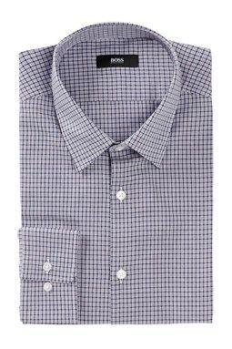 Marlow Sharp Fit Plaid Dress Shirt