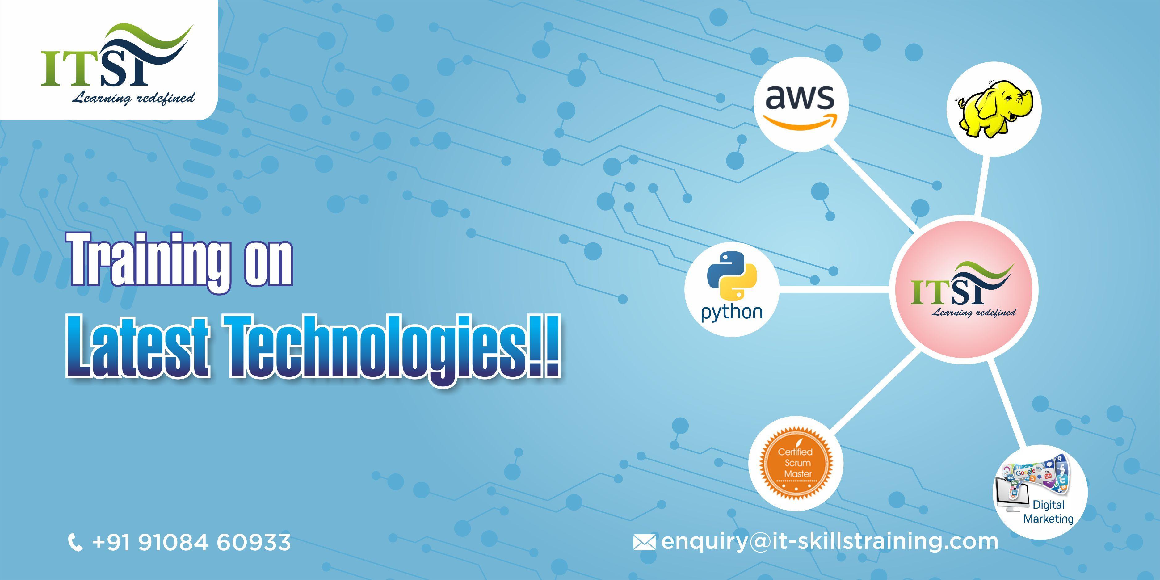 Get Training On Latest Technologies Join It Skills Training Itskilltraining Latesttechnologies Hadoop Dig Skill Training Digital Marketing Technology