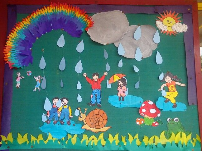 Rainy season | Rainy day crafts, Seasons activities, Preschool crafts