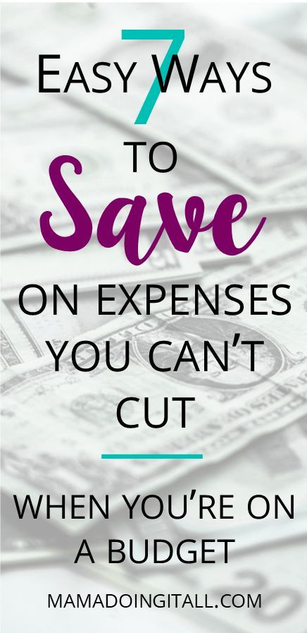 7 Easy Ways to Save When You\u0027re On a Budget Budgeting, Essentials - simple budget