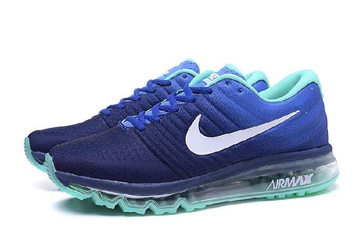 Best Nike Air Max 2017 Royal Blue Jade Running Sports