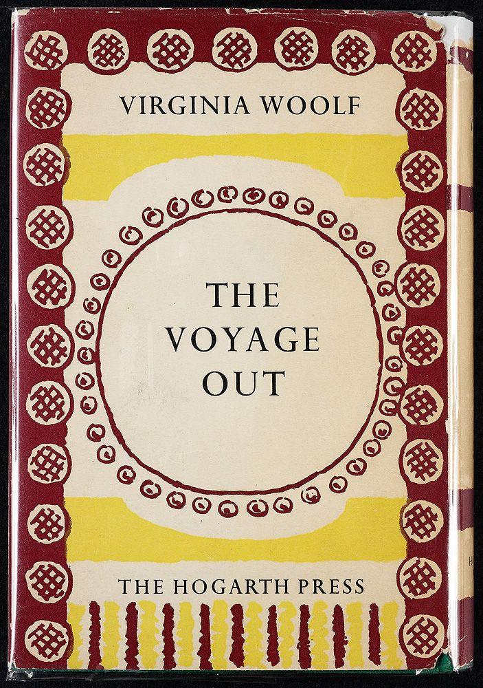 1957 Hogarth Press Back Cover Vanessa Bell Cover Virginia Woolf Vanessa Bell Virginia
