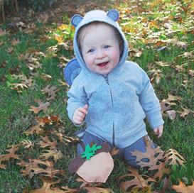 DIY squirrel (baby) costume (con imágenes)