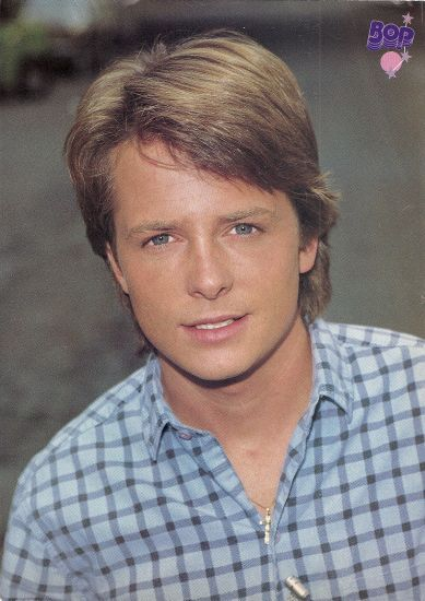 michael j fox young gay