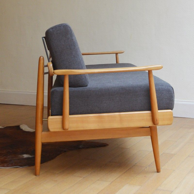 Canapé vintage Scandinave - années 50 | Design market, 50th and ...