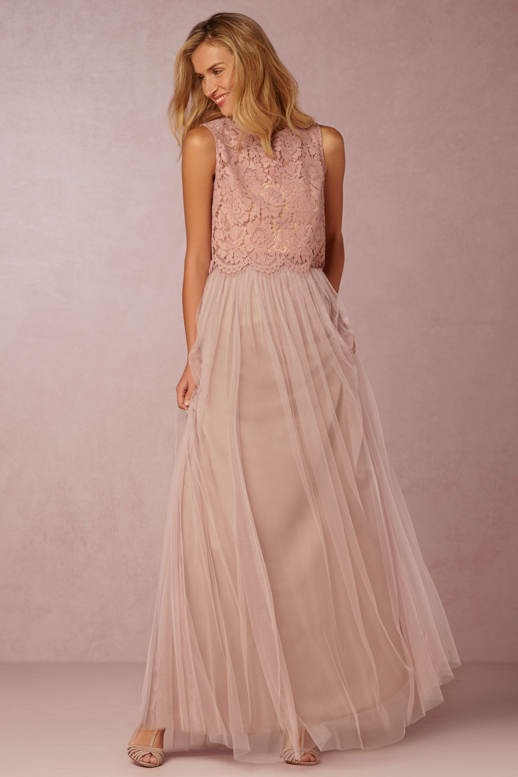94c50480bacc1 We love this bridesmaid separates pairing from designer Jenny Yoo. The  cropped shell