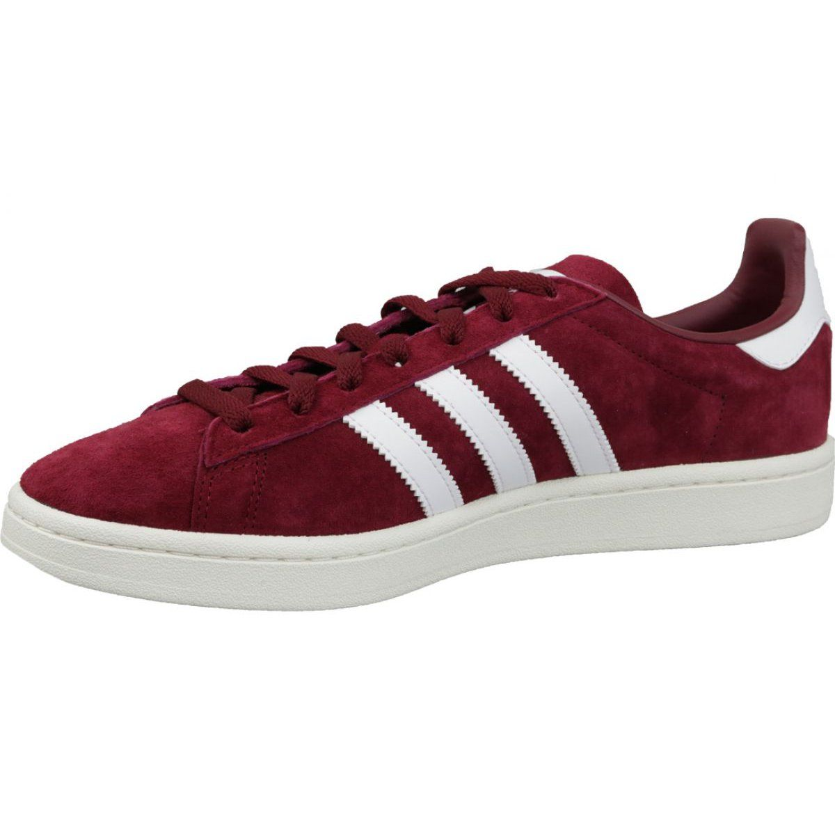 Buty Adidas Originals Campus M Bz0087 Bordowe Wielokolorowe Adidas Outfit Shoes Adidas Shoes Outlet Burgundy Shoes