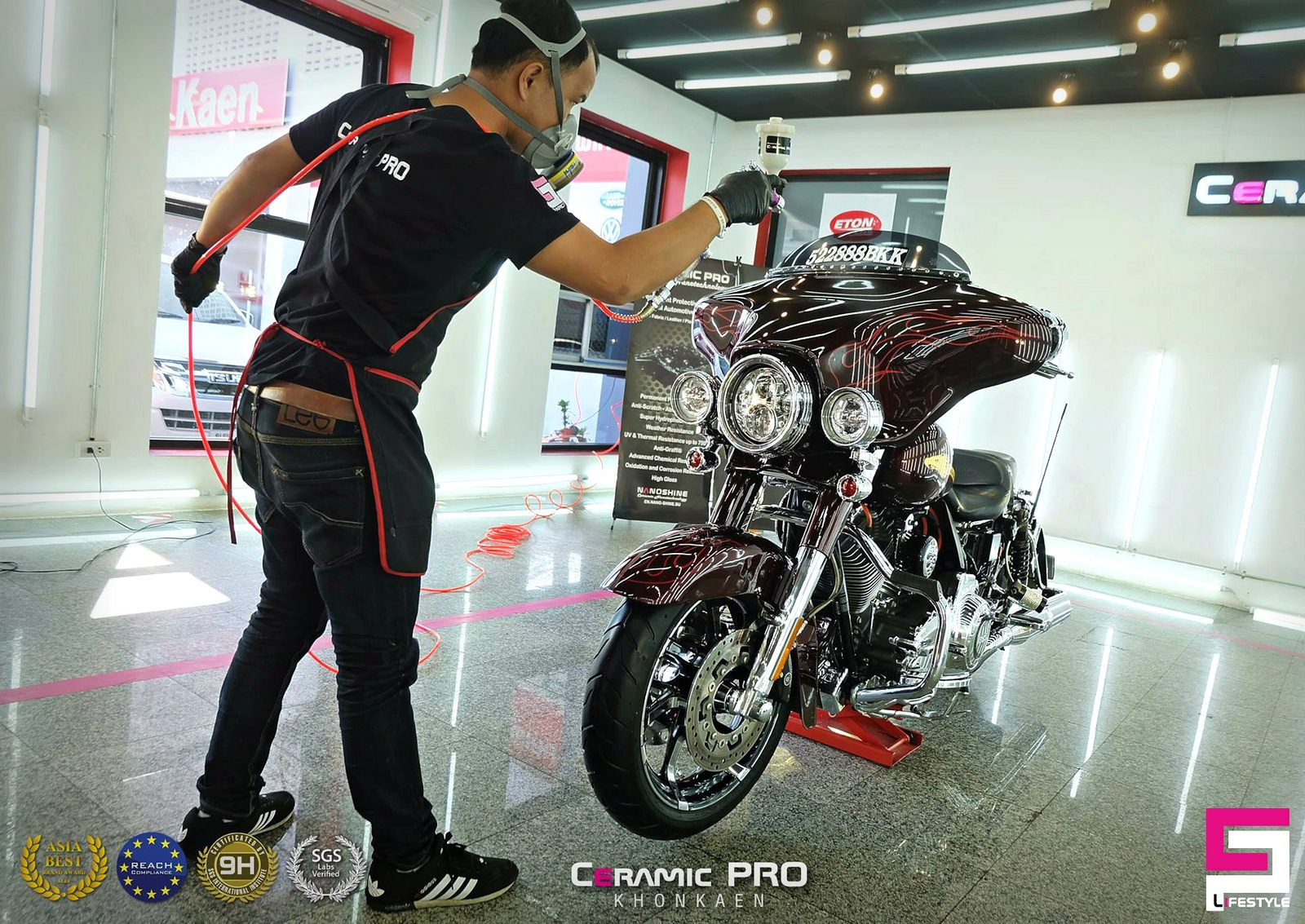 Ultimate Motorcycle Protecion By Ceramic Pro Khon Kaen Ceramic Pro Thailand Khon Kaen Motorcycle Thailand