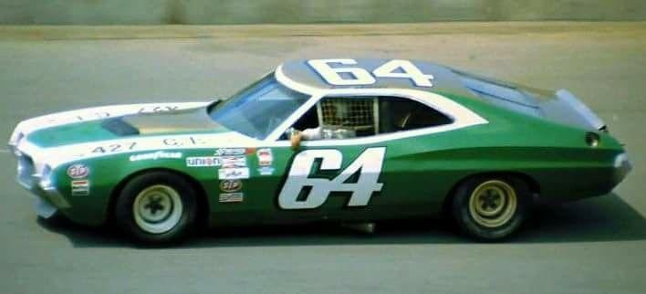 64 Ford Gran Torino Circa 1972 Nascar Cars Classic Racing