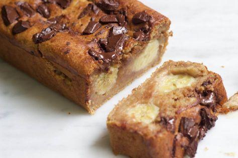 Dit receptje moet je proberen: chocolade-banaan cake!