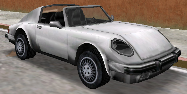 Comet Featured In Vice City San Andreas Grand Theft Auto
