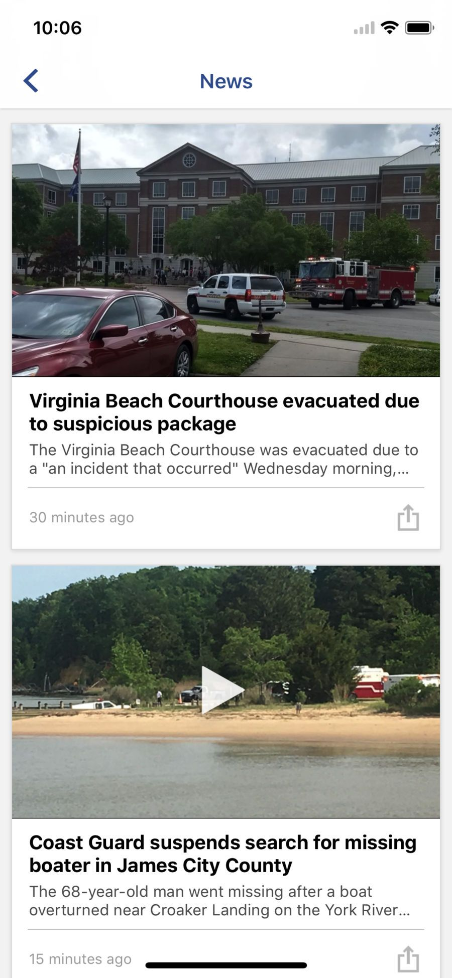 13News Now (WVEC) #ios#Weather#app#apps (With Images