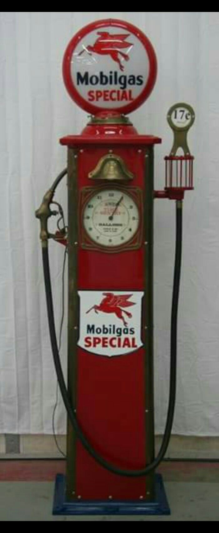 Restored Bowser Clock Faced Gas Pump Gas Globes Amp Gas
