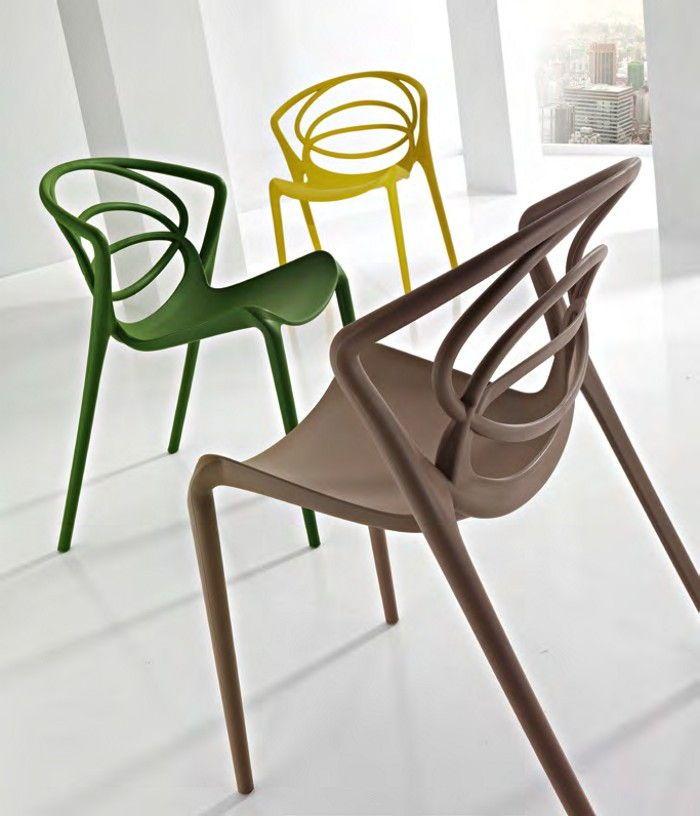 colori sedie in polipropilene per cucina e bar Erika | mobili in 2019
