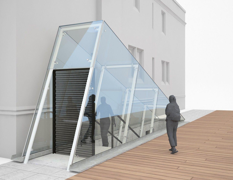 galerie le livart dicule en verre structurel et. Black Bedroom Furniture Sets. Home Design Ideas