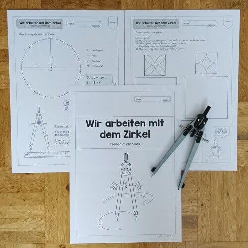 """Ideenreise Blog Trainingsheft """"Wir arbeiten mit dem Kreis"""""""