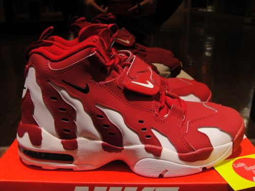 finest selection 5aa02 1d3f4 Women And Men Nike Air Dt Max 96 Gs Lovers Red Whiteonly US89.00 - follow  me to pick up couopons.