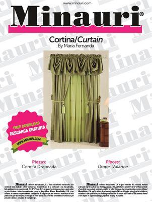 Cenefa Drapeada de Cortina By Maria Fernanda ----- Free pattern ...
