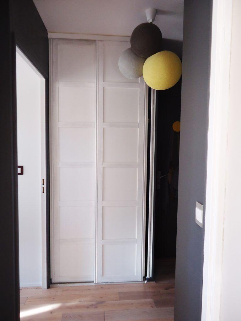 Tapisser Porte De Placard un nouveau style pour mes portes de placard - homemarie