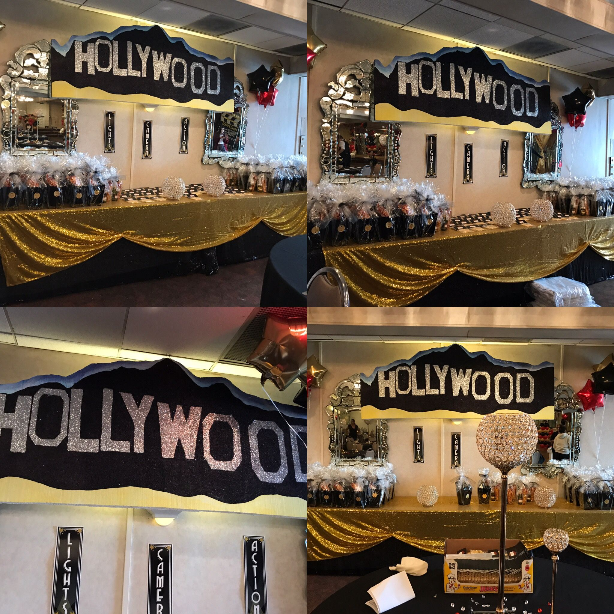 and food theme hollywood beverages party decorations ideas decor teen