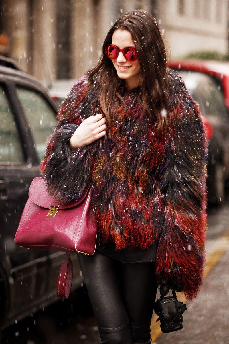 Fotos de street style en Milan Fashion Week