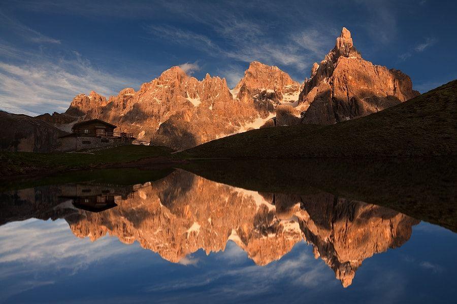 Summer evening under Pale di San Martino by Daniel Řeřicha #xemtvhay