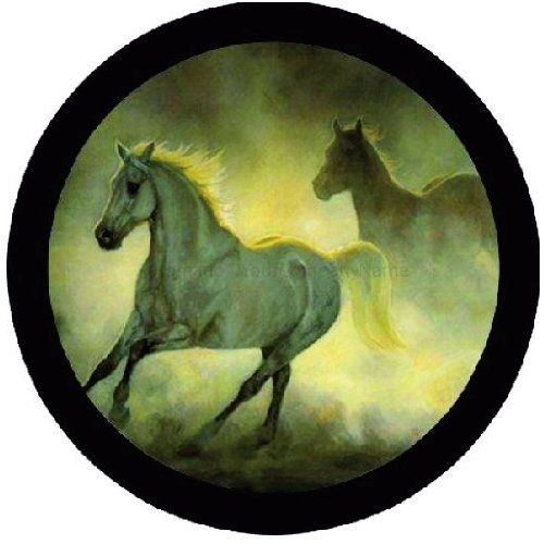 Customgrafixtirecoverstm White Horses Tire Covers 28 26 35 All