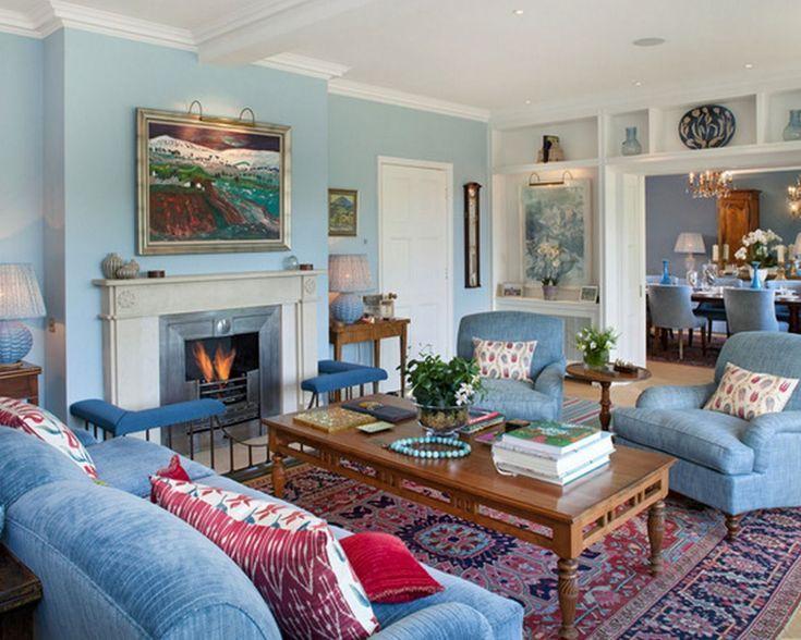 16 Beautiful Blue Living Room Ideas Blue Sofas Living Room Blue Furniture Living Room Blue Walls Living Room