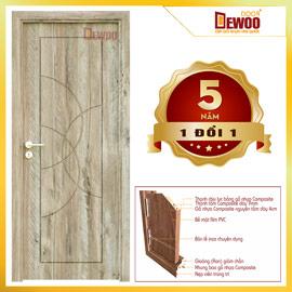 COMPOSITE PLASTIC WOOD DOOR 092 – DEWOO DOOR – DA NANG