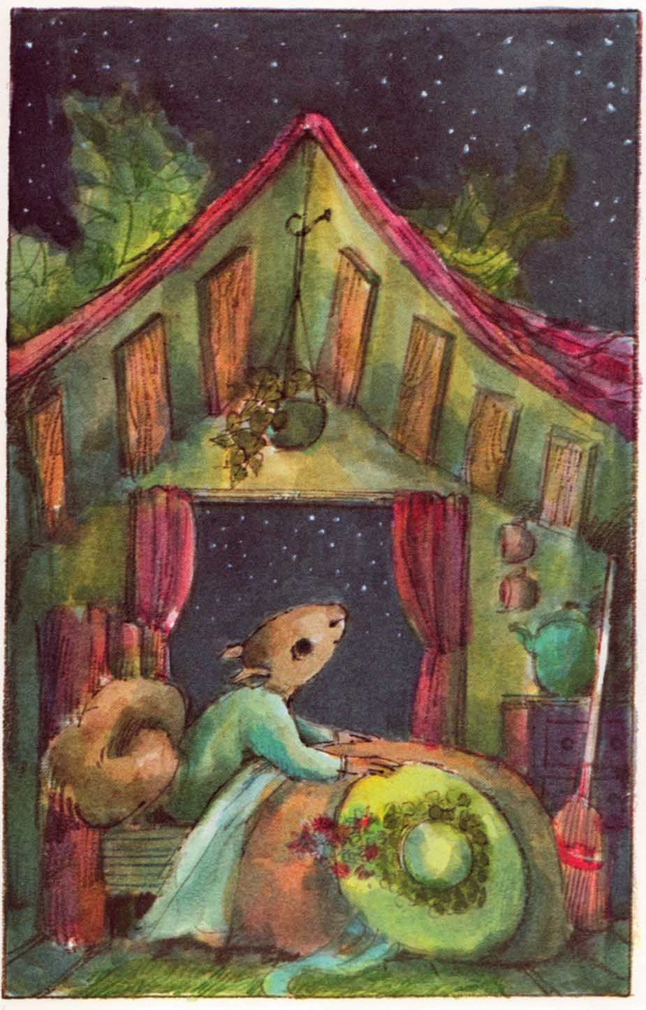 Vintage Kids' Books My Kid Loves: Miss Suzy's Easter Surprise-art by Arnold Lobel