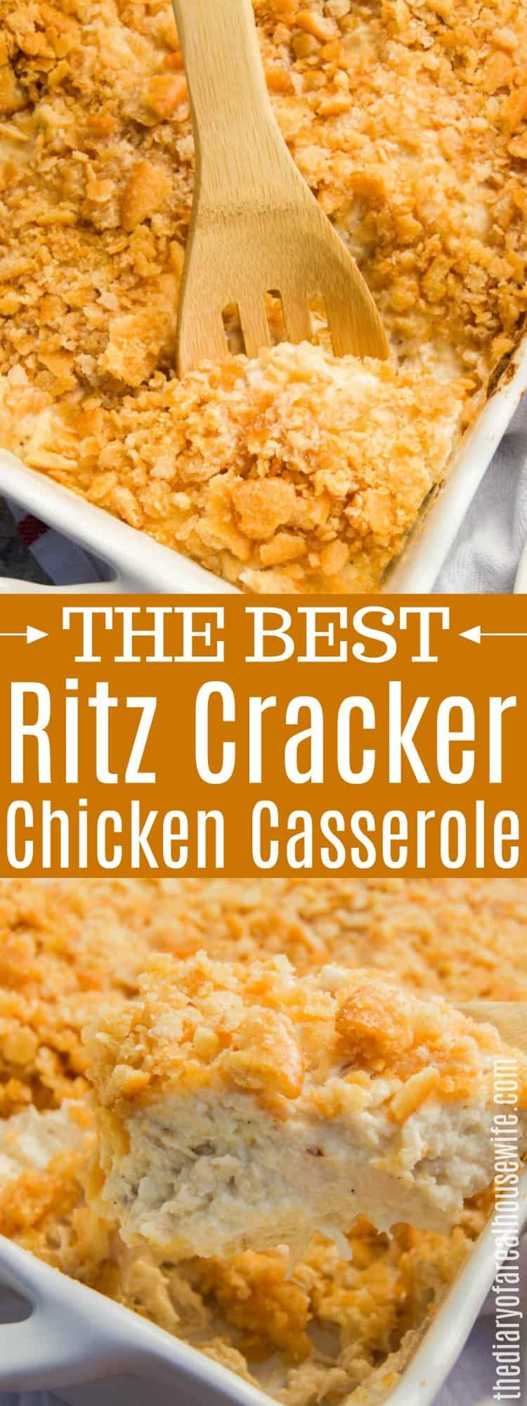 Ritz Cracker Chicken Casserole Chicken Casserole Easy Ritz Cracker Chicken Recipes