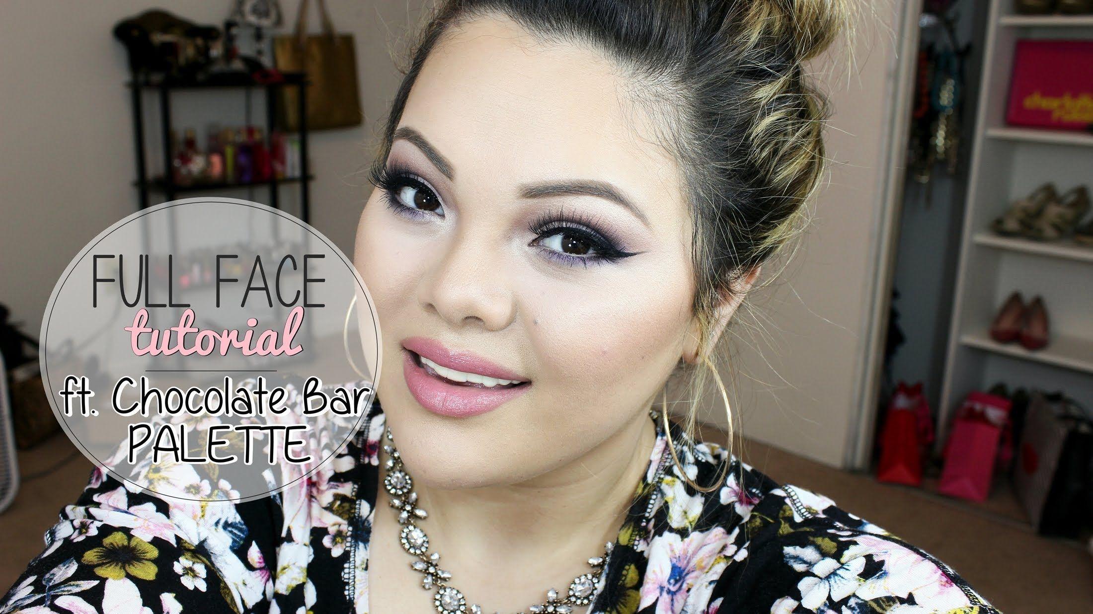 Full Face Makeup Tutorial ft Chocolate Bar Palette