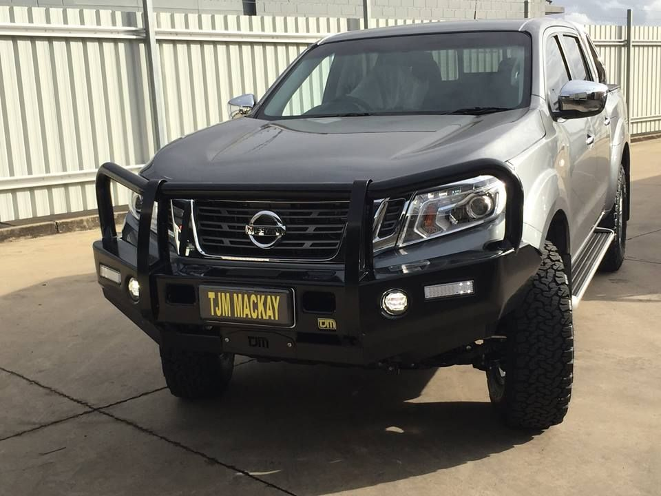 The new Nissan NP300 looks pretty nice with a TJM Deluxe