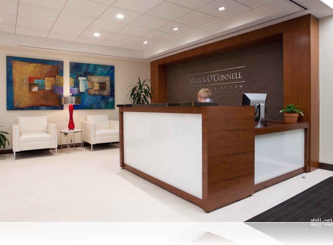 Office Lobby Design Ideas Lobby Reception Desk Simple Home