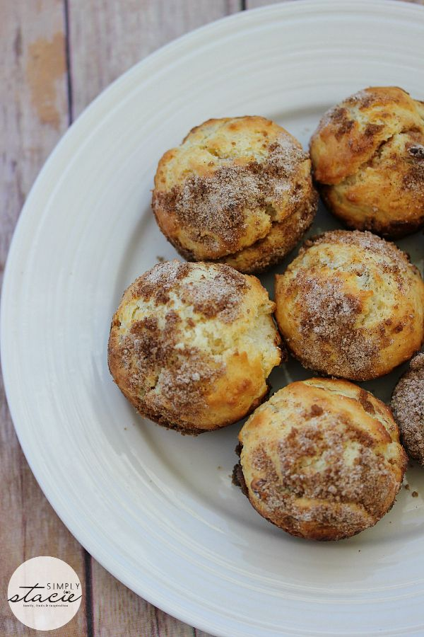 Pecan Coffee Cake Muffins - Simply Stacie  I haven't tried these yet, but they sound good.