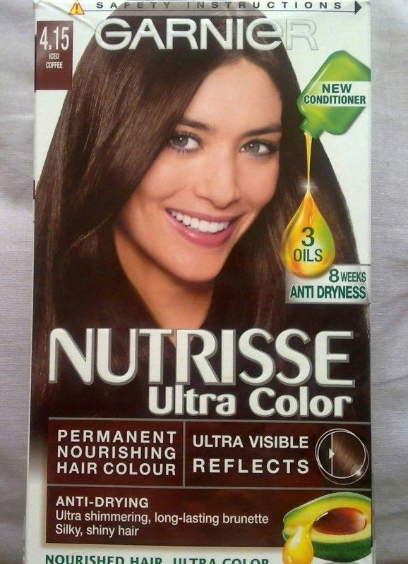 Garnier Hair Color Images Garnier Nutrisse Ultra Color 415 Iced