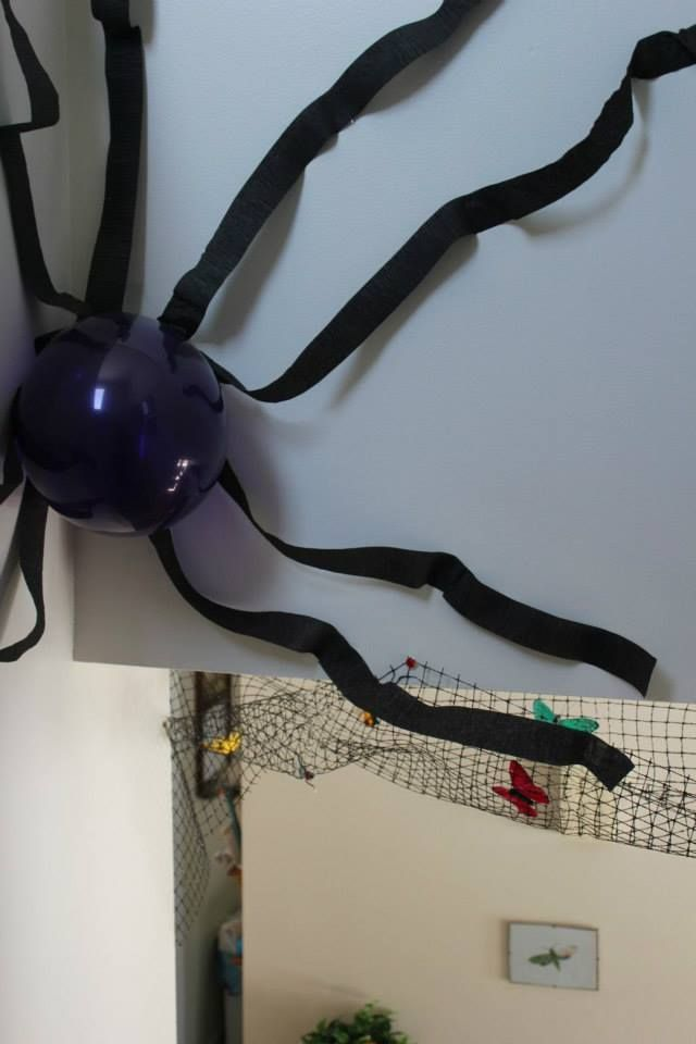 Best Spider Its Web In My Staircase Party Themes Birthday 400 x 300
