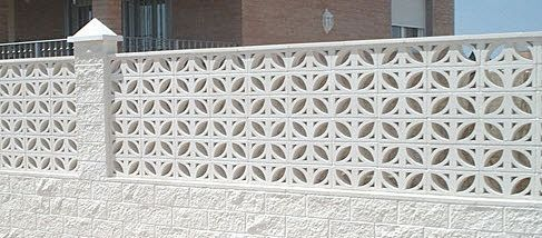 I Love This Take On A Cloverleaf Pattern Concrete Decor Compound Wall Design Screen Block