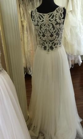 2d0f85d5014 Maggie Sottero Phyllis  buy this dress for a fraction of the salon price on  PreOwnedWeddingDresses.com