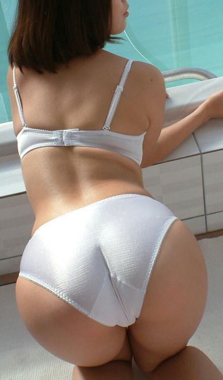 Not Good girl white underwear