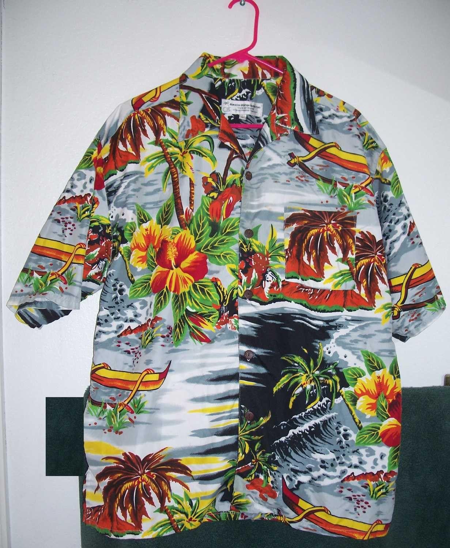 Hawaiian Vintage collection Shirt Hawaiian Style - SIZE