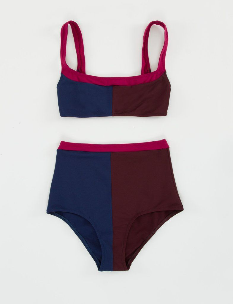 newest be3f3 eb993 Tri-Color High Waist Bikini - Laura Urbinati | ocean wear ...