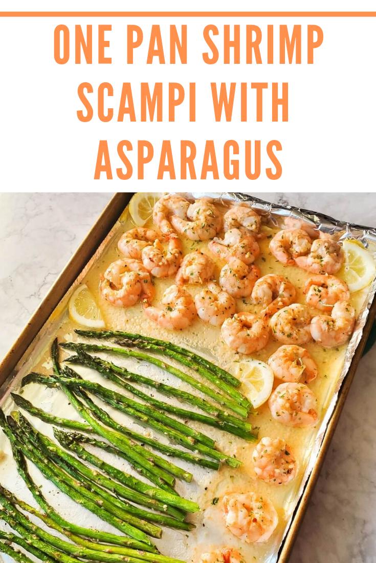 Sheet Pan Shrimp Scampi #shrimpscampi