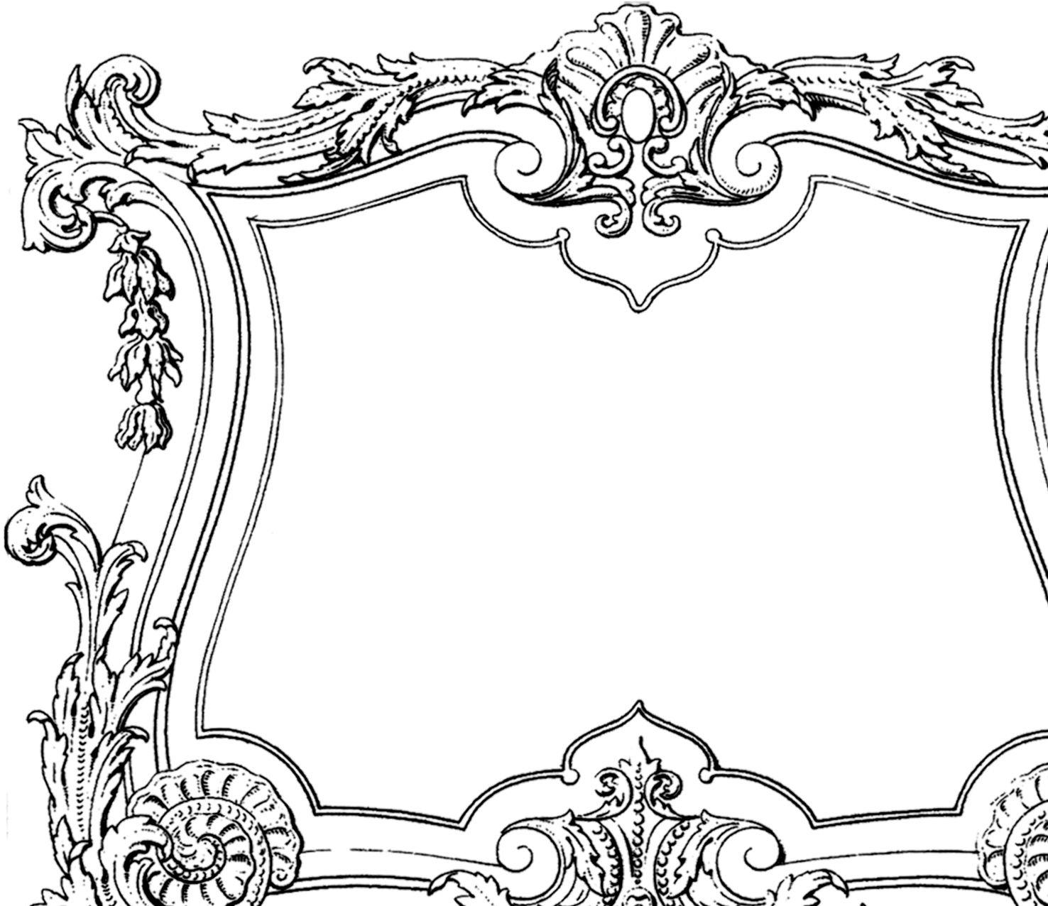 Fabulous Decorative French Frame Image