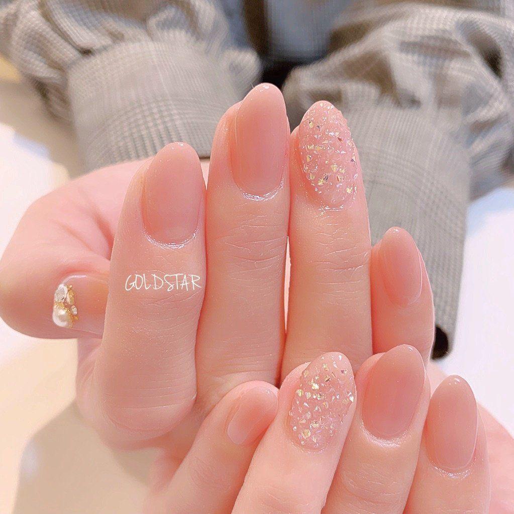 オールシーズン/成人式/オフィス/ブライダル/ハンド - agloss nailのネイルデザイン[No.3879922]|ネイルブック #koreannailart