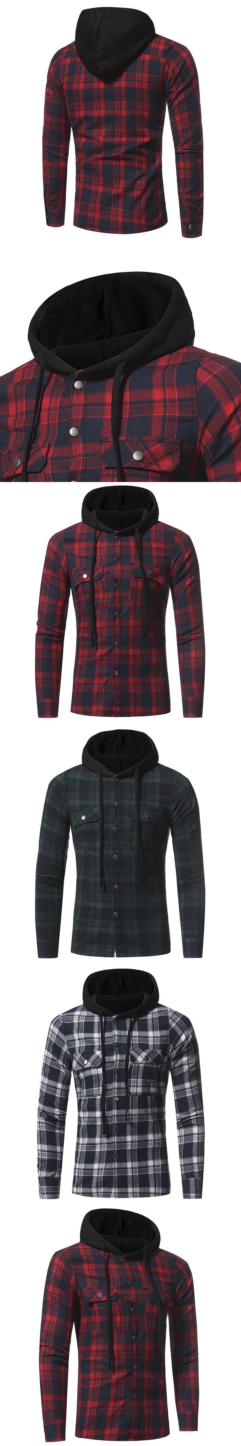 Men Shirts  New Fashion Brand Long Sleeve Shirt Flannel Menus