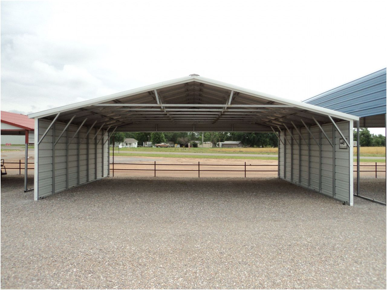 Simple 10x20 Portable Garage in 2020 Aluminum carport