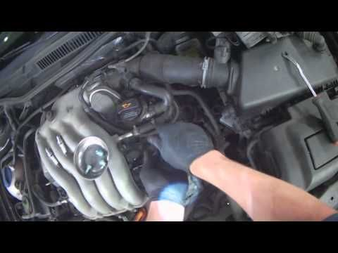 VW A4: 2.0L BEV Spark Plug & Wire replacement - YouTube