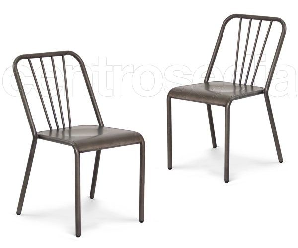 Rust Sedia Metallo-Sedie Vintage e Industriali | Industrial Style ...