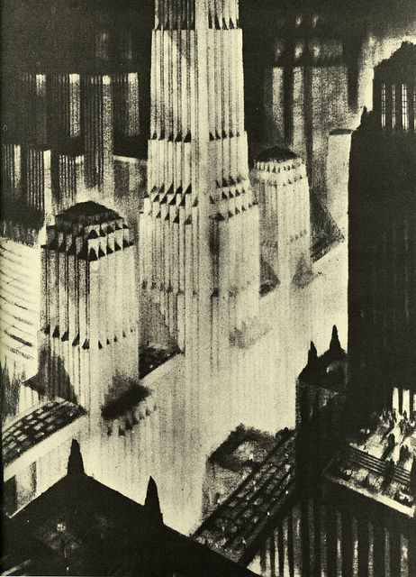 Canyons Of Commerce by paul.malon, via Flickr